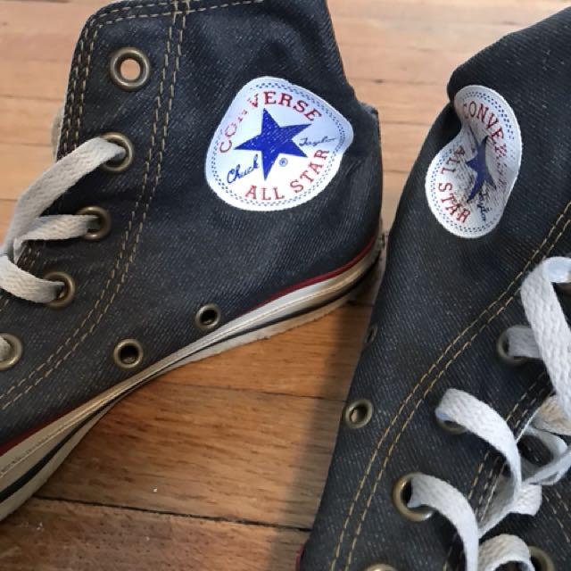 Denim Converse