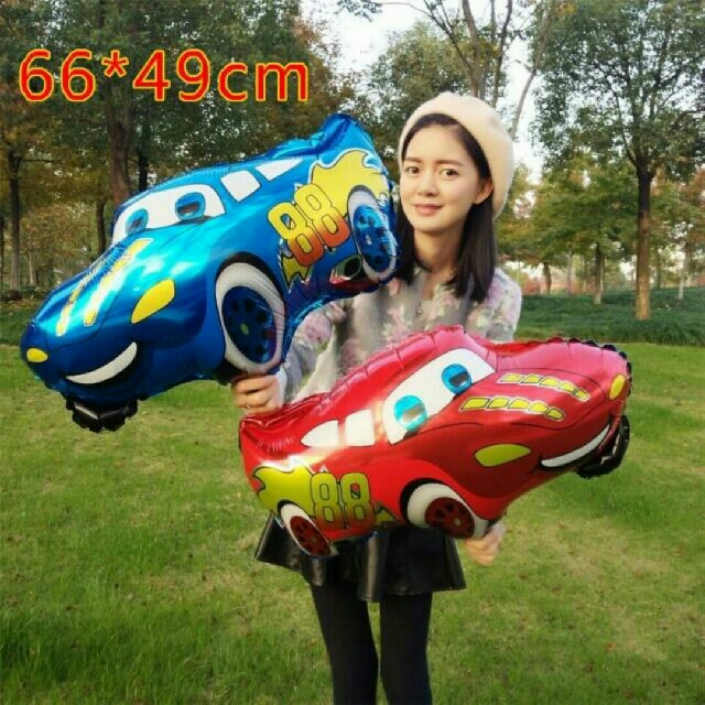 disney car balloon foil everything else others on carousell