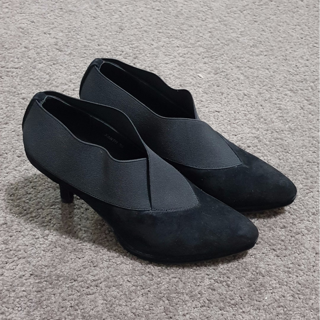Django & Julietto - Black Ankle Heels