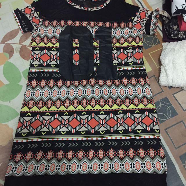 Dress tribal h&m