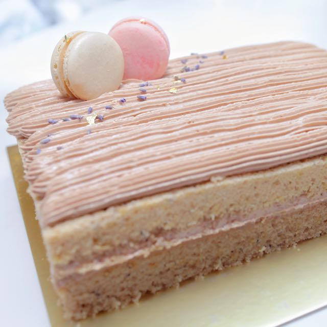 Earl Grey Tea Blueberry Bundt Cake