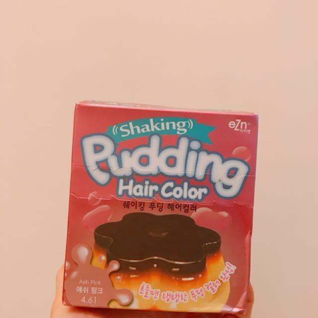 (含運)韓國eZn布丁染髮劑 4.61粉色
