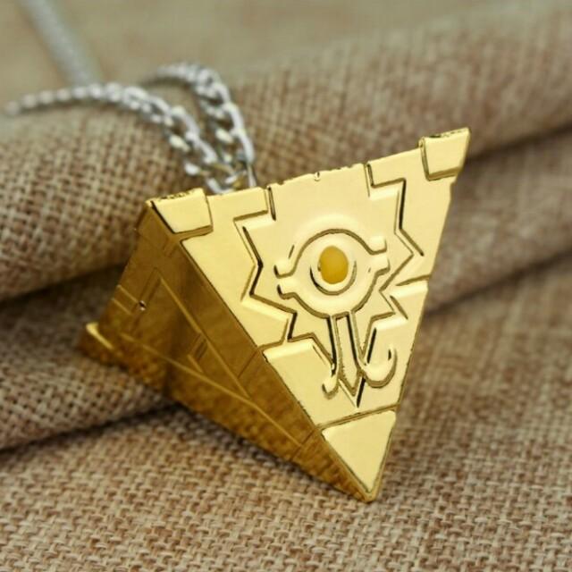Fashion yu gi oh millennium puzzle chain necklaces pendants golden home womens fashion jewellery photo photo photo photo photo aloadofball Gallery