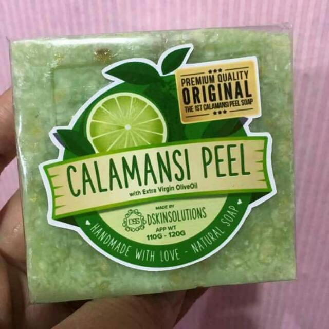 First Calamansi Peel Soap!!