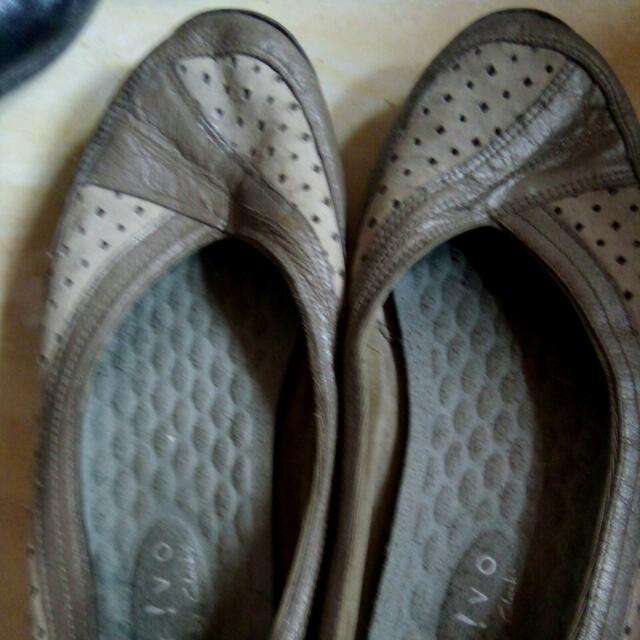 Flat Shoes Gray