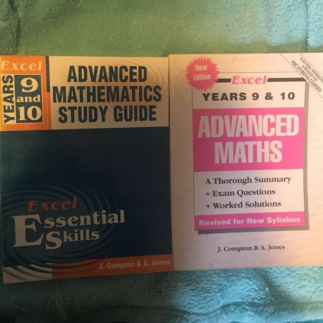 General and Advanced Maths textbooks