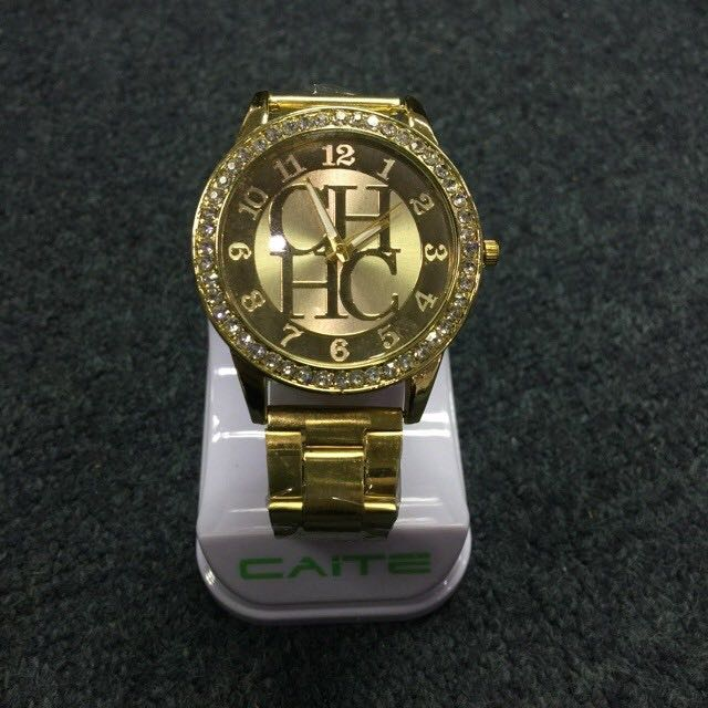 Geneva Rhinestone Watch for Women