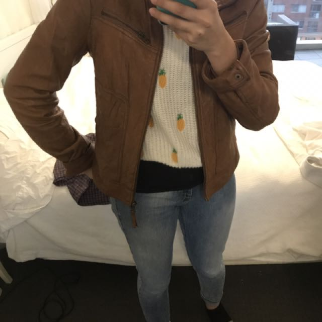 Gorgeous soft leather jacket - jeanswest