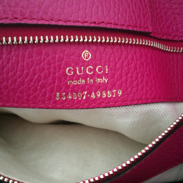 Authentic Gucci Swing Medium Tote