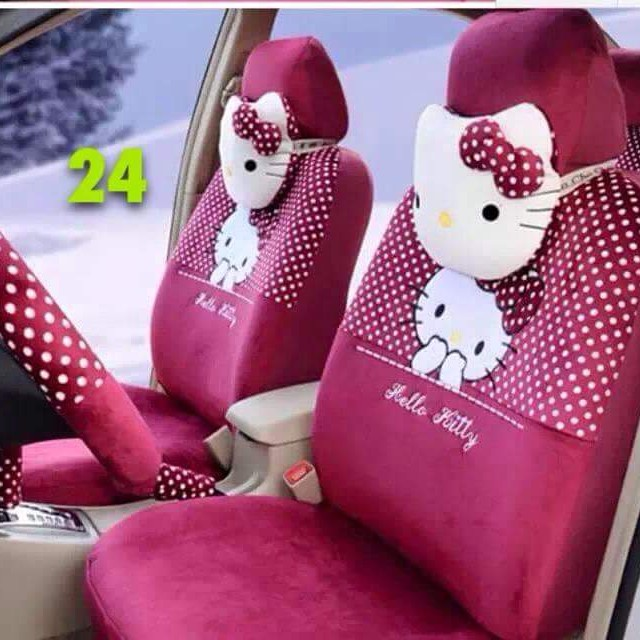 Hello Kitty Car Seat Cover Auto Accessories Others On Carousell