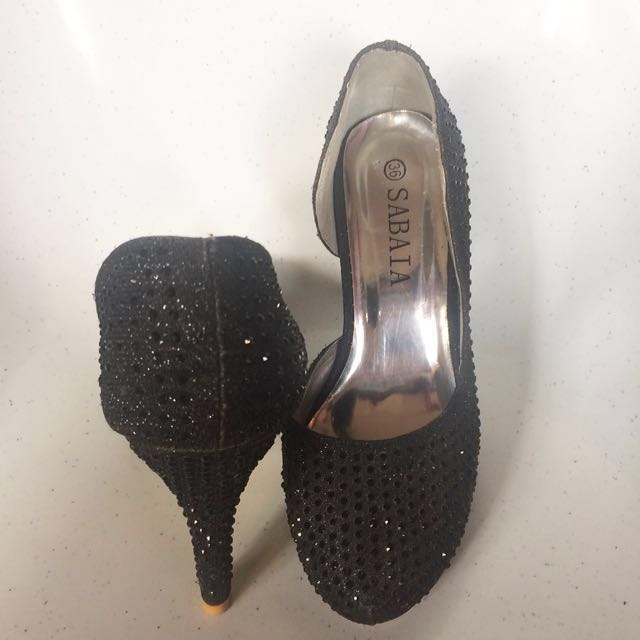 High heels (3 inches)