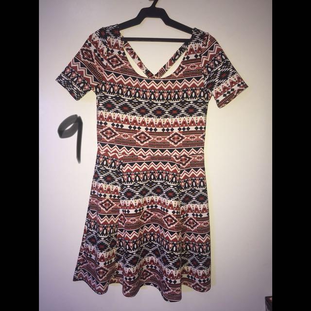 12d67b0e9654 H M Skater Dress Size 8