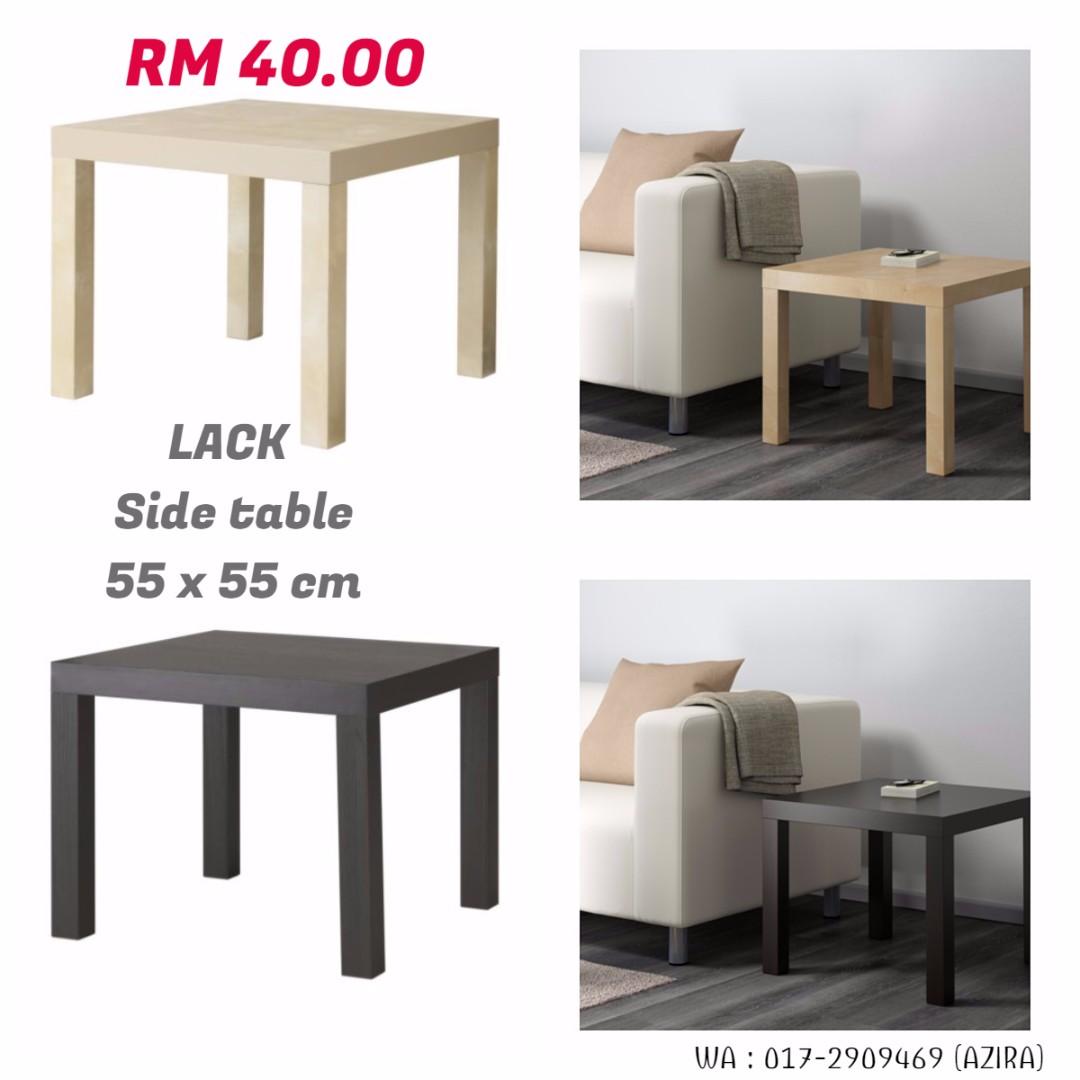 IKEA - LACK Side Table, 55 x 55 cm