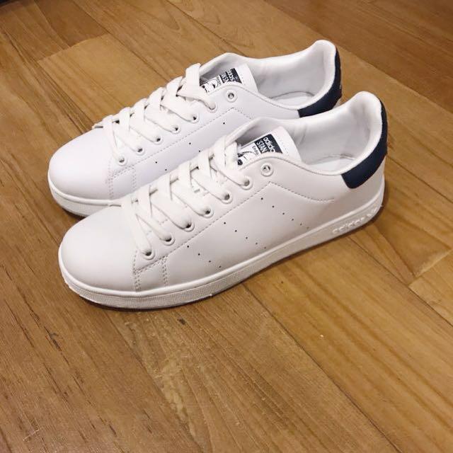 a67896c0a1f INSTOCK Adidas Stan Smith Black (AAA grade Replica)