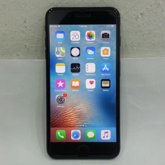 IPhone 7 Plus 128GB Jet Black Original Import Set 3b63919225