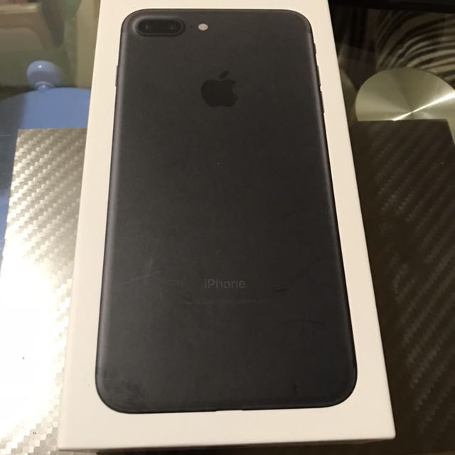 (超新一手機)iPhone 7 plus 32G 黑 保固超長