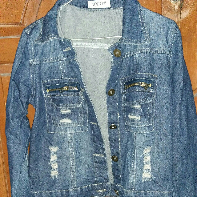 Jaket Jeans (Ripped)  No brand