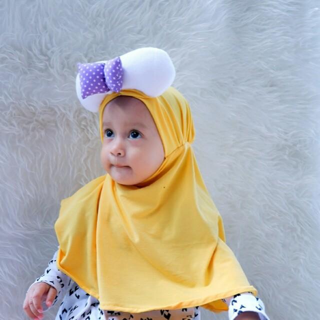 jilbab anak hijab mickey premium