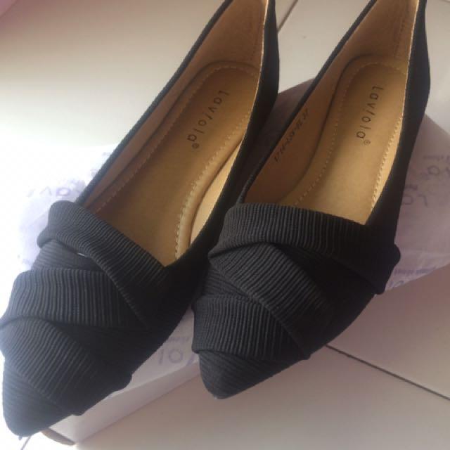 Jual Rugi krn size kebesaran Laviola Flatshoes NEW