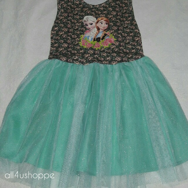 Large Kids Tutu Dress