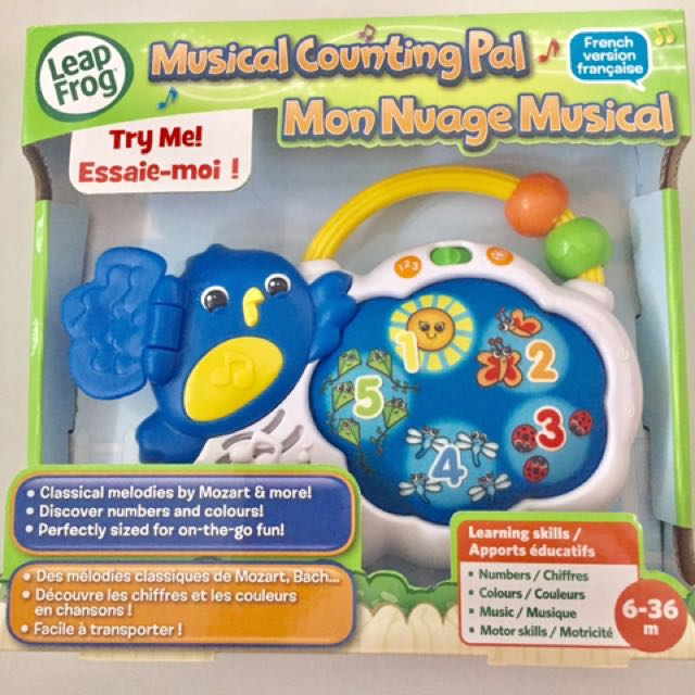 Leap Frog Counting Pal ( French Version )
