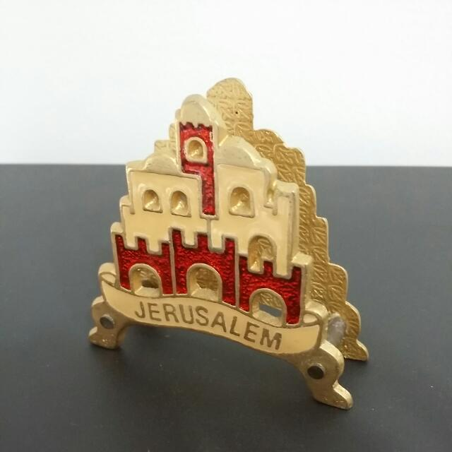 Letter Holder / Paper Weight - Jerusalem