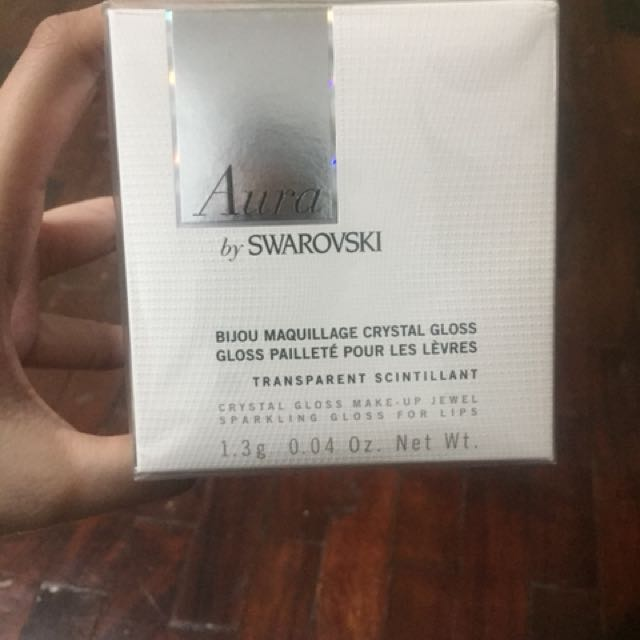 Lipgloss Pendant by Swarovski Crystal (Brand New and Sealed)