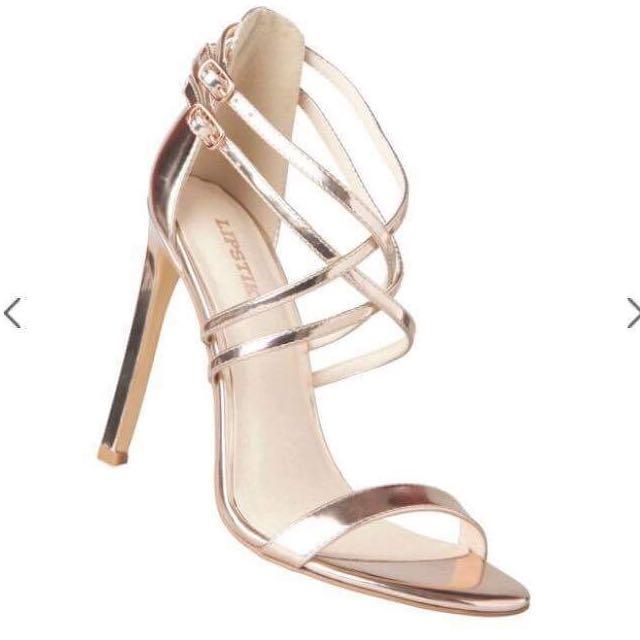Lipstick heels