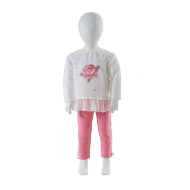 Little Me 兒童兩件式長袖長褲套組