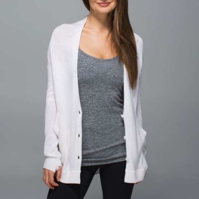 Lululemon Cardi in the Front