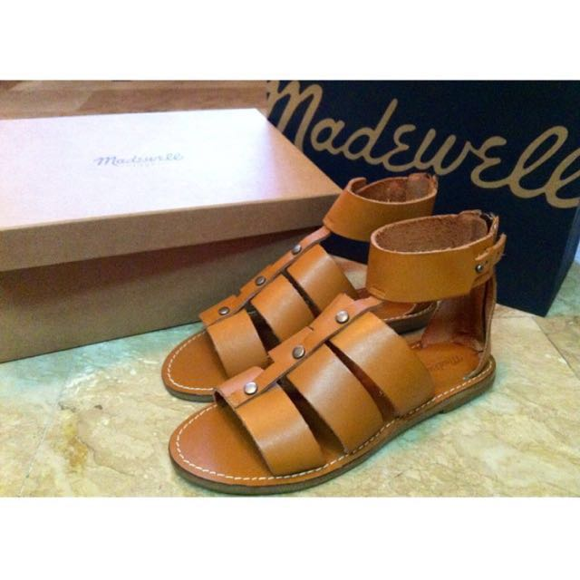 Madewell All Leather Gladiators