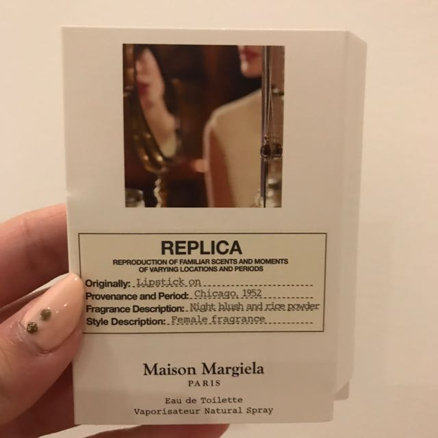 Maison Margiela 'REPLICA' Lipstick On