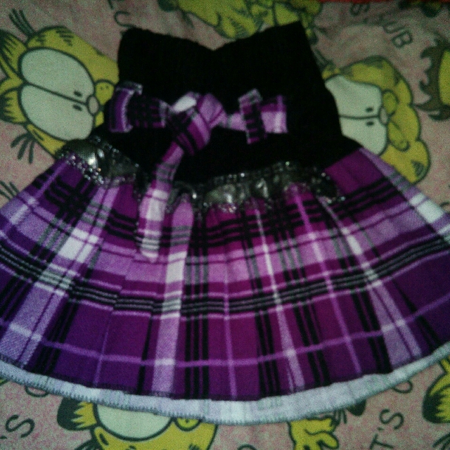 Mini Skirt For 2-4 Yrs Old