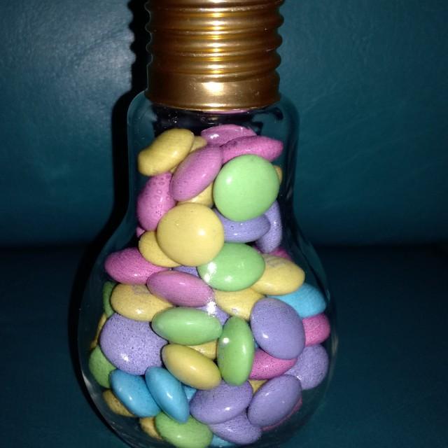 M&M Milk Chocolate in a Jar