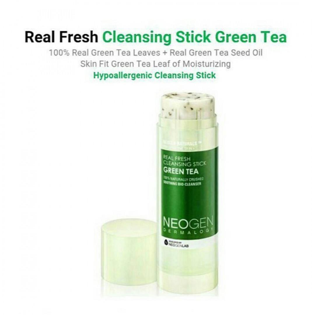Neogen Real Fresh Cleansing Stick #Green Tea