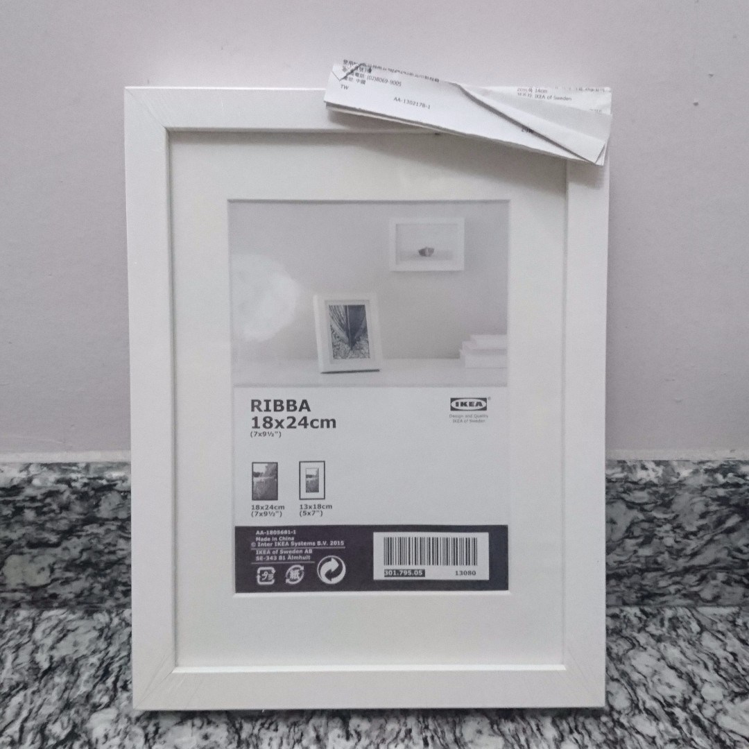 New Ikea Ribba Frame 18 by 24, Furniture, Home Decor on Carousell