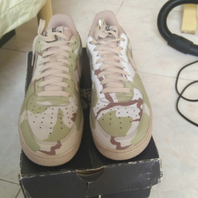 7b1c98fc2f11e Nike Airforce 1 Reflective Camo on Carousell