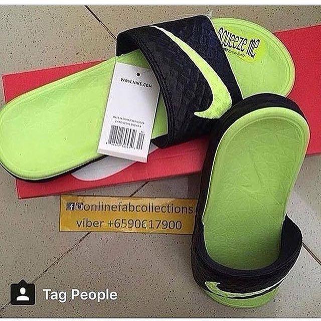 Nike Benassi Solar Slide - Men (size 9)
