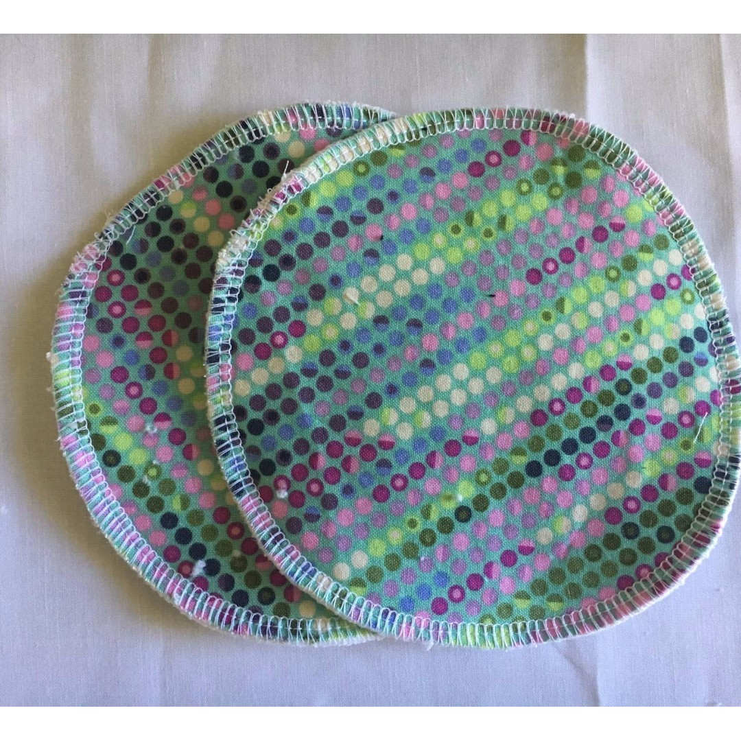 Nursing Pads - Green Spots - last pair