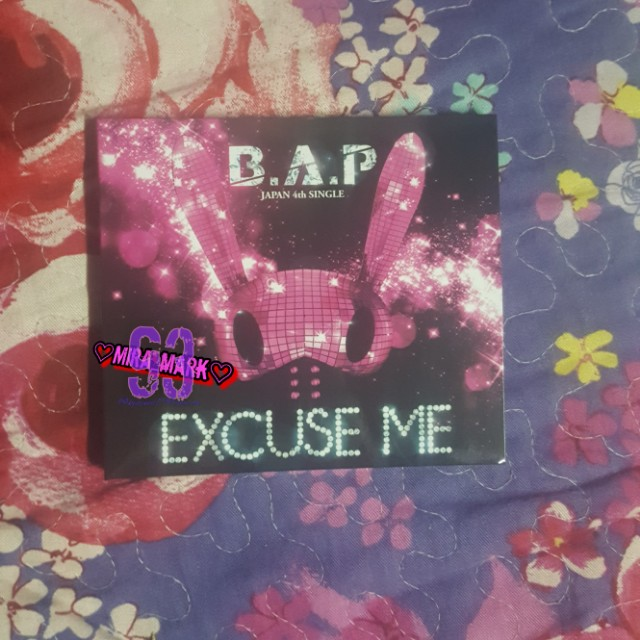 B.A.P EXCUSE ME JAPANESE LIMITED VER