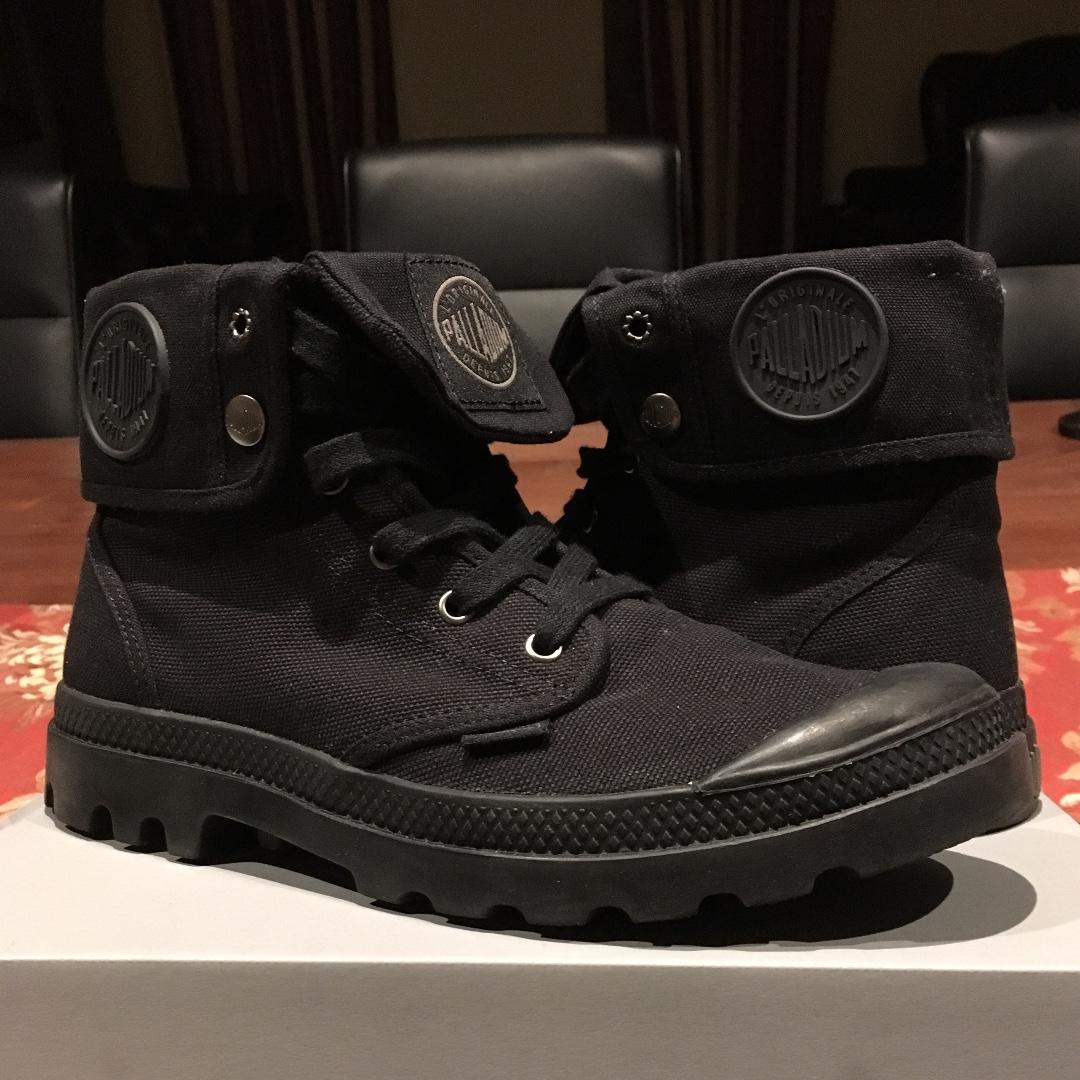 Palladium Baggy Boots Black/Black