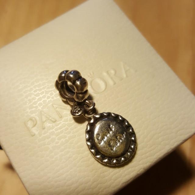 PANDORA潘朵拉,SWEET SISITER吊飾