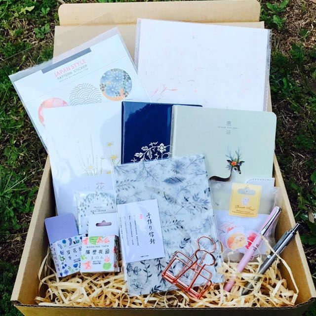 Paper Vibes Stationery Subscription Box