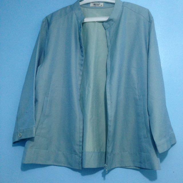 Pastel Blue Cardigan