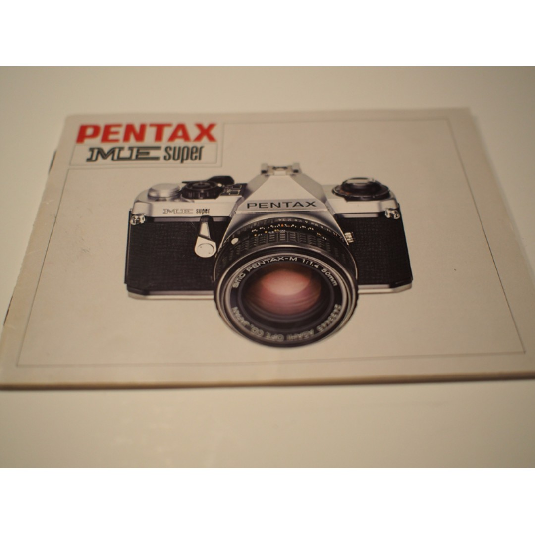 pentax me super instruction manual photography on carousell rh sg carousell com pentax me user manual Pentax Super Program