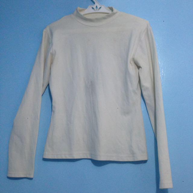 Plain White Long Sleeves
