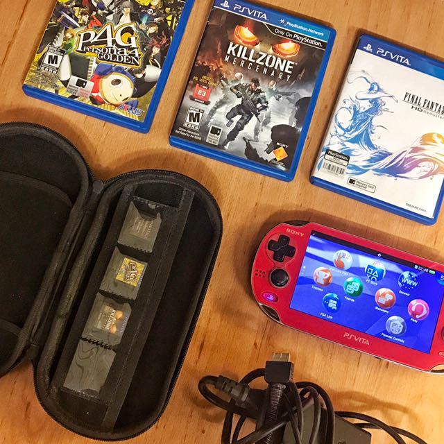 Playstation Vita – Wi-Fi Model