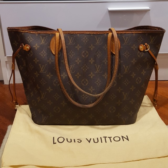 Just Reduced Price !!!!Preloved Authentic Louis Vuitton Neverfull MM ... 4bd2845423c45