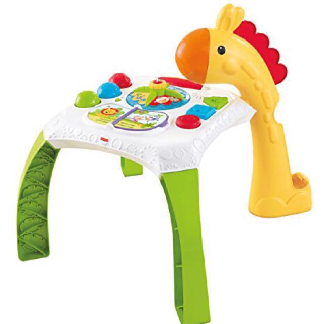 PRICE REDUCED Giraffe Toy Table