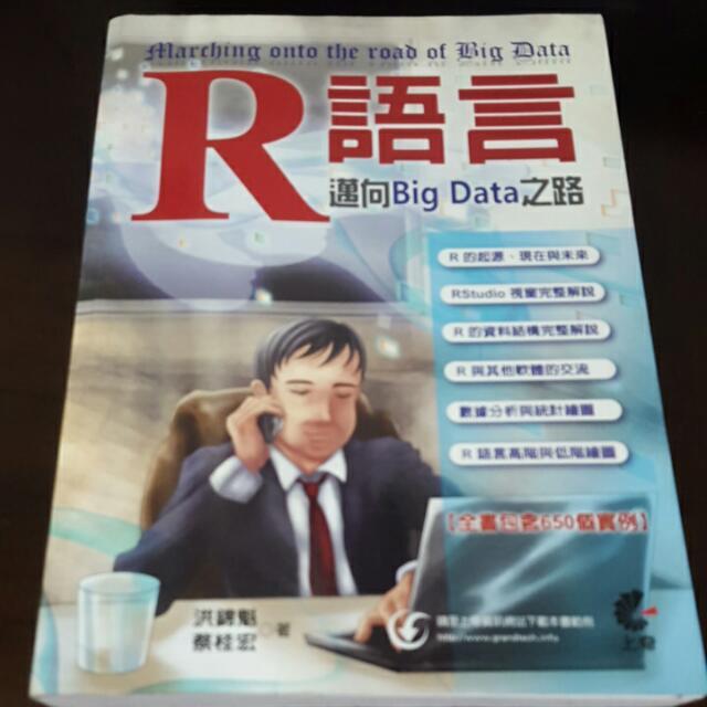(二手)R語言 邁向Big Data 之路